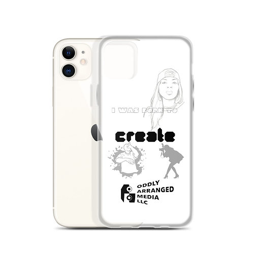 Born to Create iPhone Case