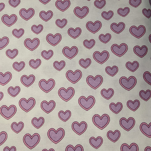#003 Pink & Purple Hearts