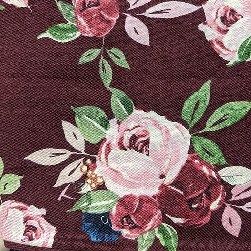 #137 - Burgundy/Pink Roses