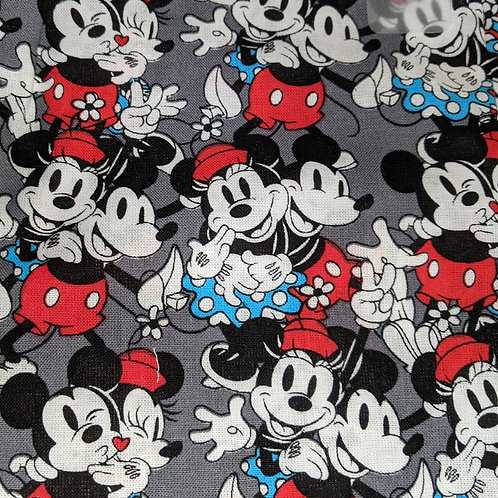 #168 Grey Mickey& Minne