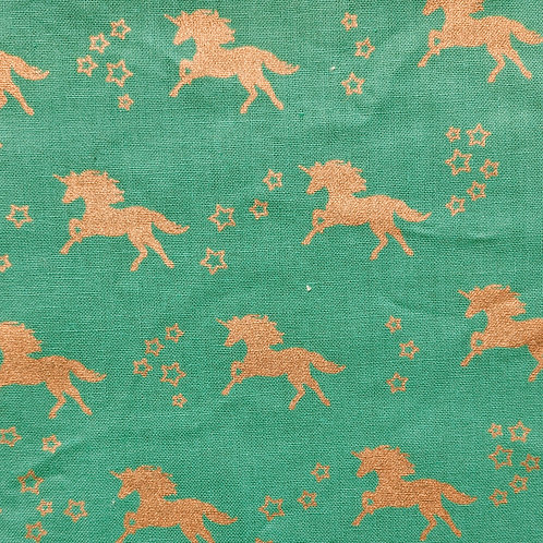 #111 - Teal and Gold Unicorns