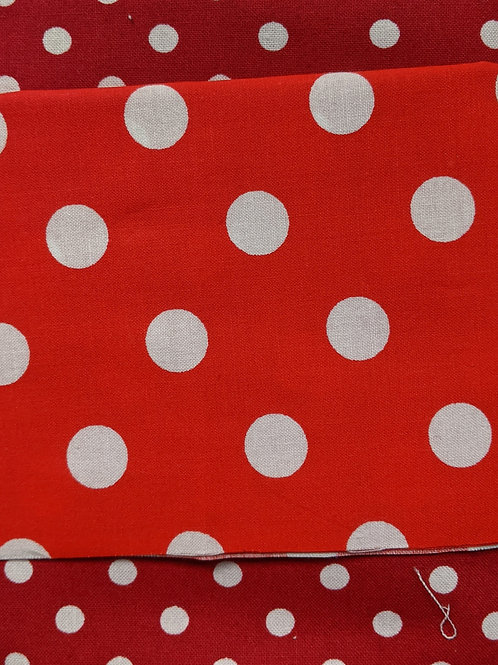 #113 - Red and White Polka Dots