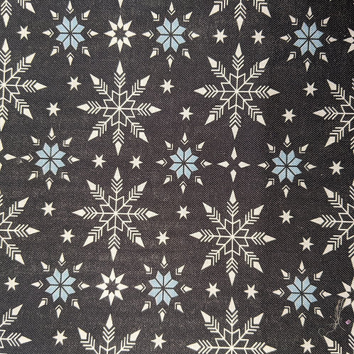 #232 - Black Snowflakes