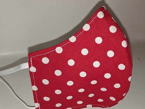 #146- Red and White Polka Dots