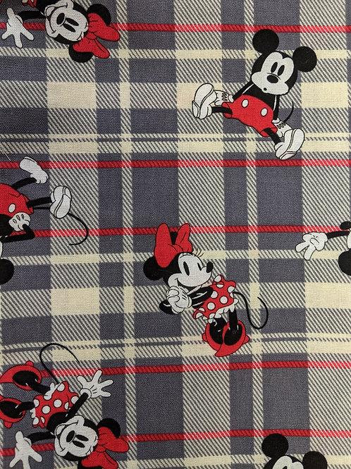#023 Plaid Mickey & Minnie
