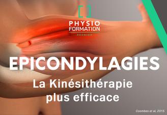 Epicondylalgies: la Kinésithérapie plus efficace et moins couteuse qu'une injection de corticoï