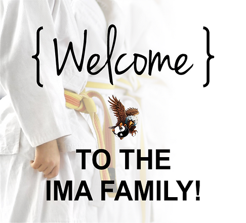 Welcome to the IMA Family