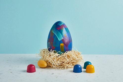 Dark Chocolate Speckled Egg