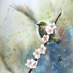 < Murmur of Plum Blossom II>