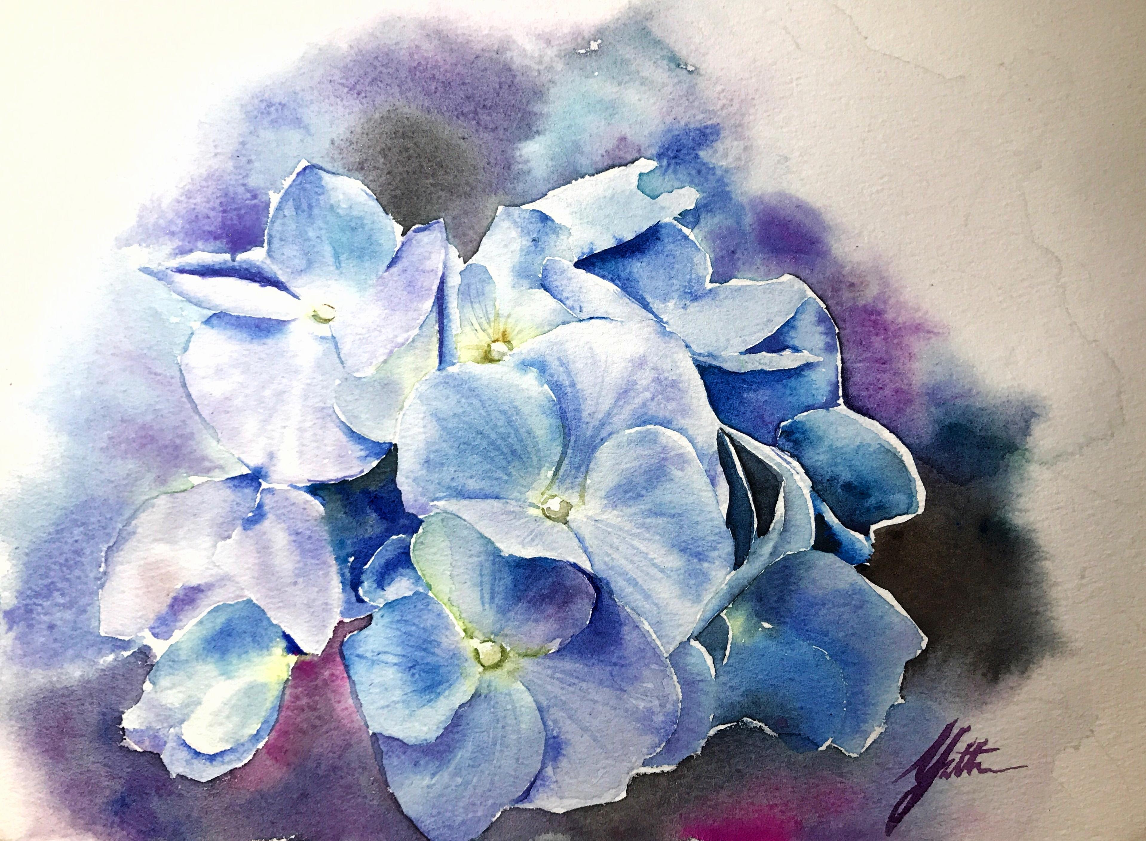 Murmur of Hydrangea -- The Sky Blue>