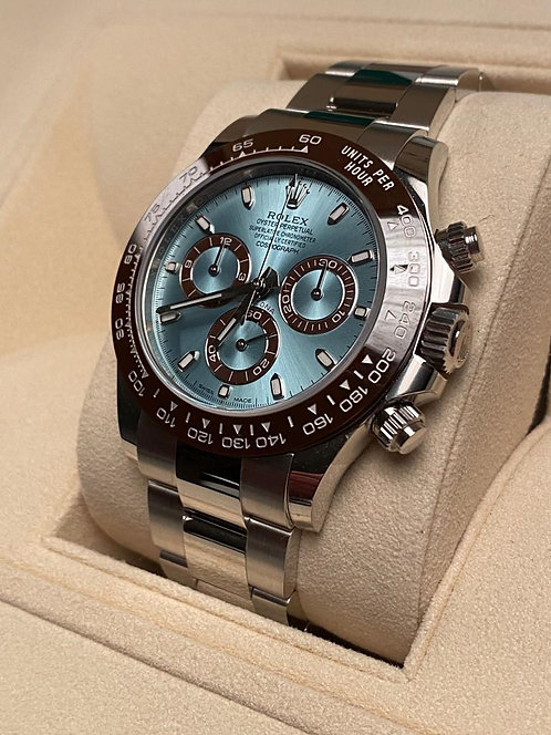Rolex 116506 Daytona Platinum Ice Blue 116506