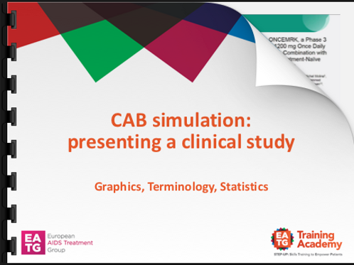CAB Simulation: presenting a clinical study