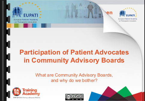 Introduction to Community Advisory Boards (CAB)