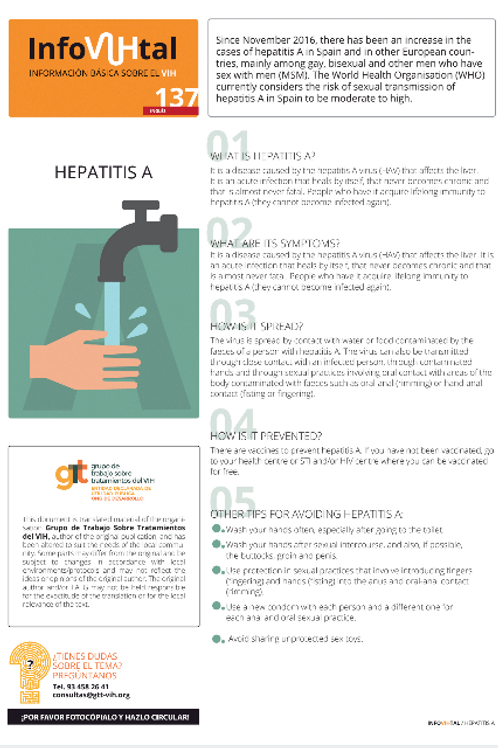 Hepatitis A - English