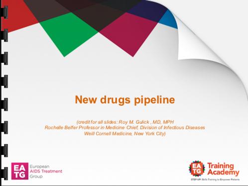 New drug pipeline