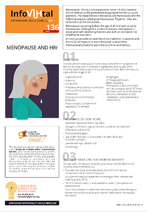 Menopause and HIV - English