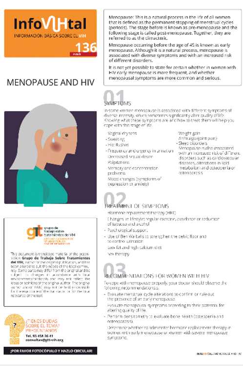 Menopause and HIV - Wolof