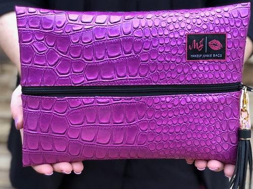 Makeup Junkie Bag Purple Kinda Pink