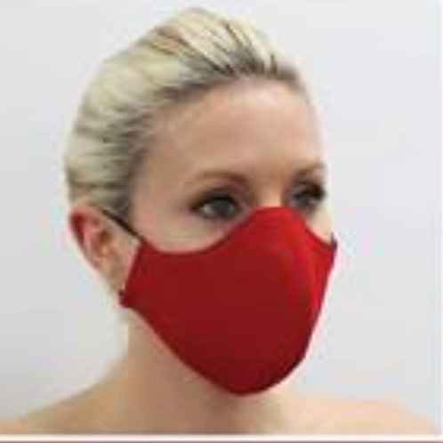 Mask Solid Red