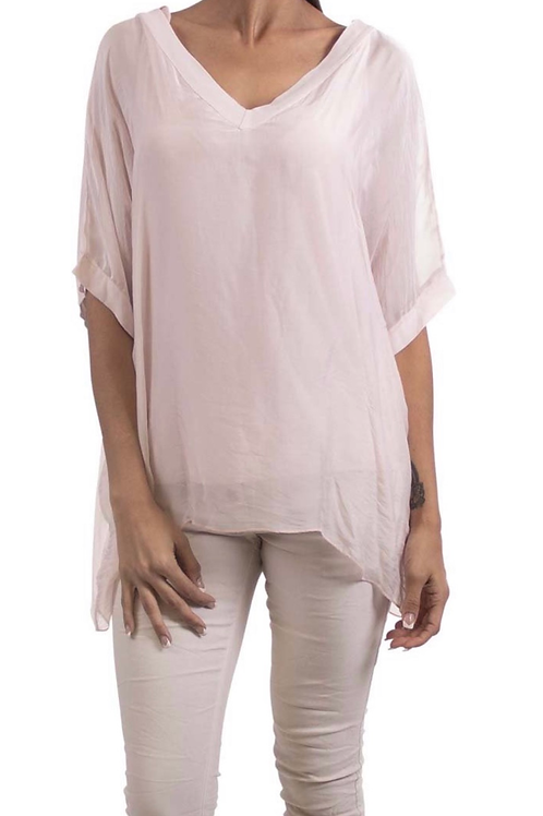 Liza Top Washable Silk