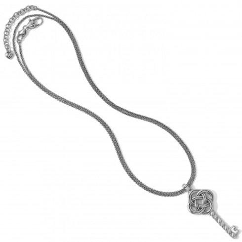 Interlok Large Key Convertible Necklace