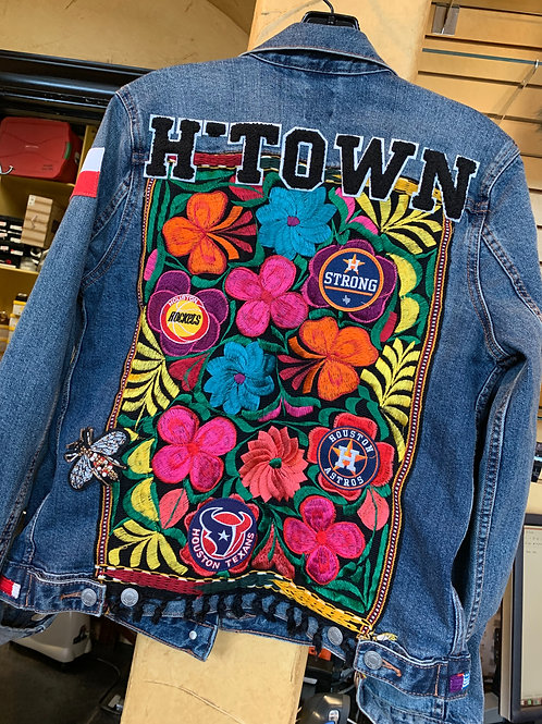 H Town Denim Jacket