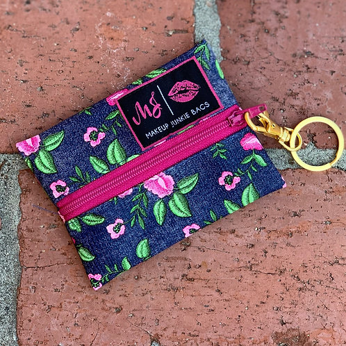 Makeup Junkie Micro Denim Floral