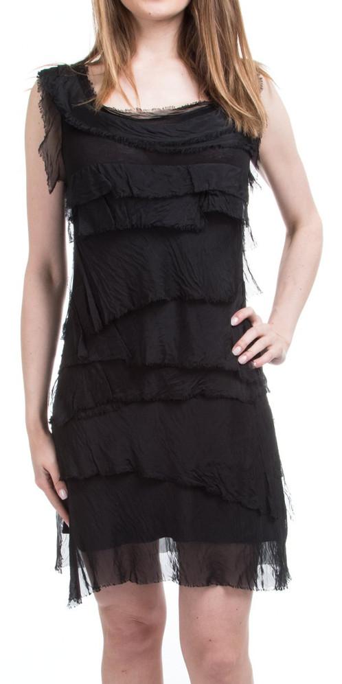 One Size Washable Italian Silk Dress
