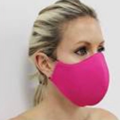 Mask Solid Fushia