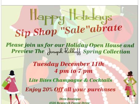 Sip Shop Sale-abration