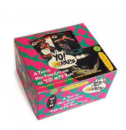"Box - ""Yo MTV Rap Cards"""
