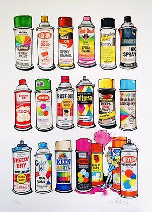 "Print ""Spraycans"""