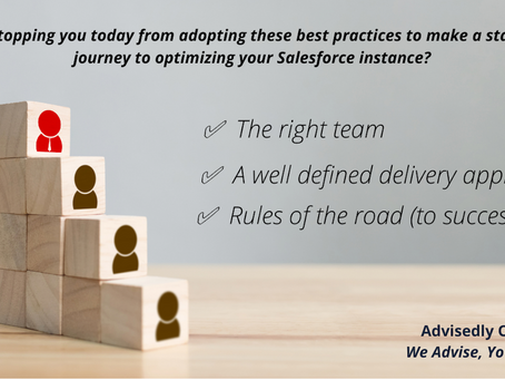 Key ingredients for your Salesforce technology team, to help you extract value