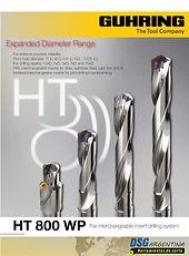 Catalogo de puntas intercambiables HT800 de Guhring