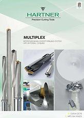 Catalogo de puntas intercambiables Hartner Multiplex de Guhring