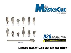 Catalogo de Limas rotativas MasterCut