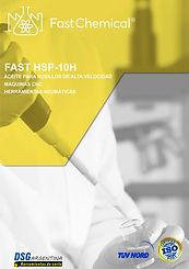 Aceite para husillos FAST HSP-10H