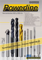 Catalogo línea POWERLINE de Guhring