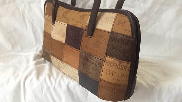 The Jean Label Bag