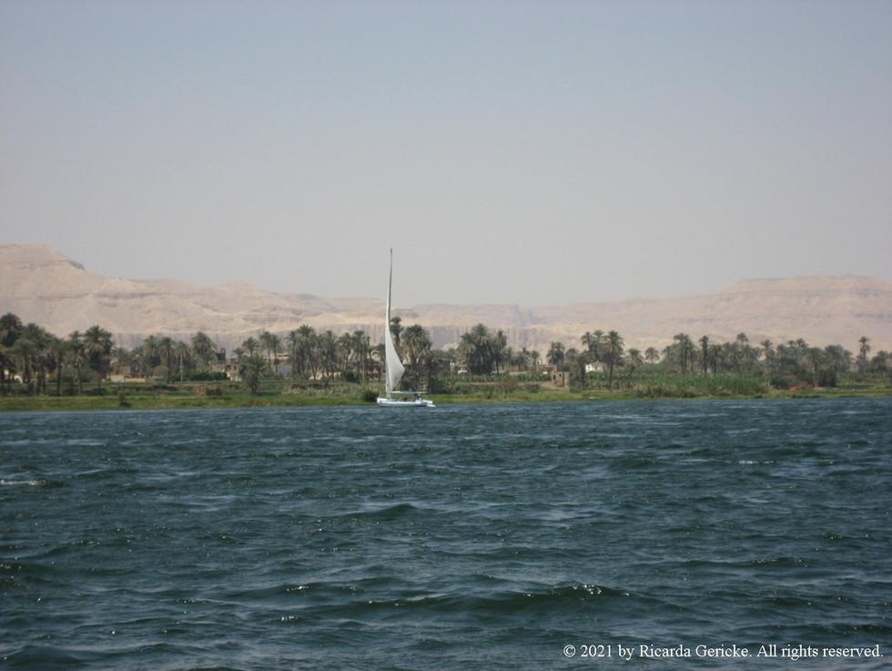 Nil Richtung Tal der Könige 3 - Ricarda