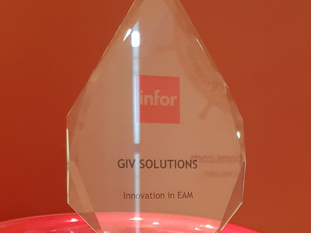 זכייתה של גיב סולושנס בפרס חדשנות באינפור EAM