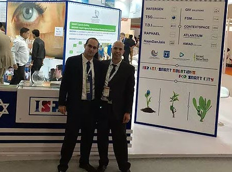 GIV solutions ltd. in smart city convention, india