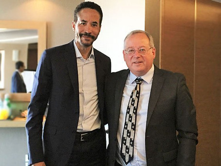 Infor CEO arrived in Israel and met with Meir Givon, CEO of GIV Solutions