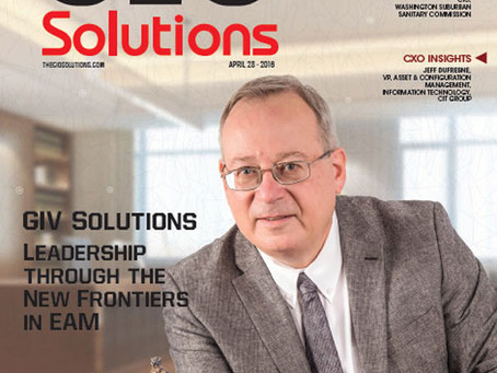 GIV Solutions has been selected as one of the top 25 companies in the EAM world