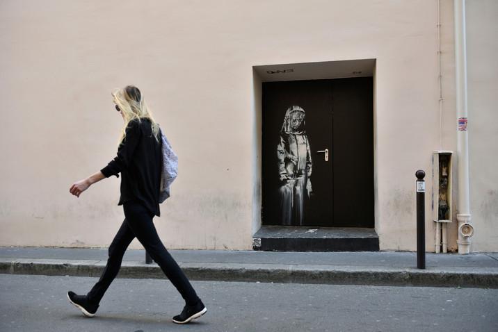 A Banksy Memorial Art Piece is Stolen at the Bataclan