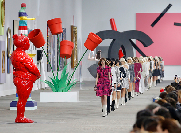 Karl Lagerfeld Sold Art Collection
