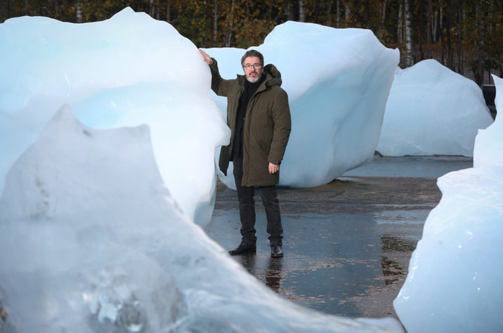 Olafur Eliasson's Public Artwork Installed to Limit The Effects of Climate Change