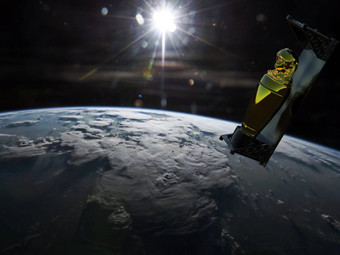 A Gold Sculpture by Tavares Strachan Will Orbit Earth for 7 Years