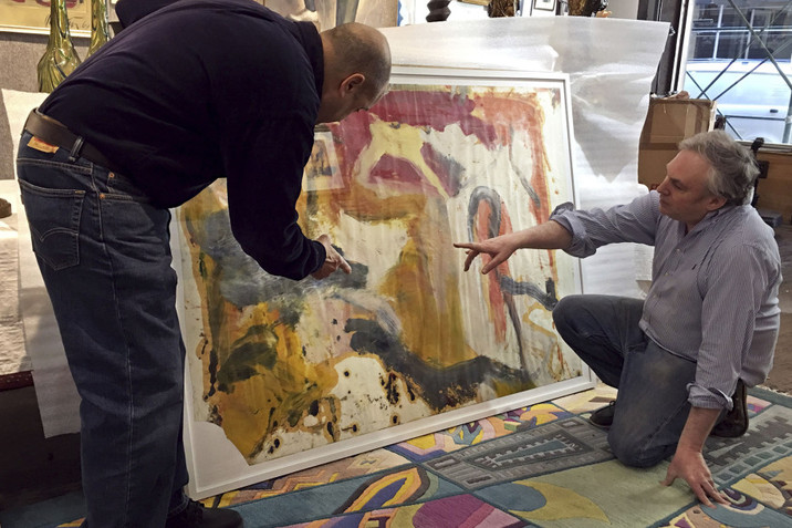 NYC Art Dealer Finds Paintings Worth Millions in Storage Locker