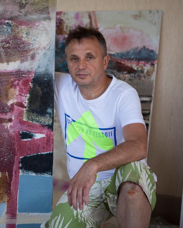 Mykola Zhuravel: Painting, Sculpture, and Harmony